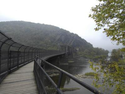 Appalachian Trail Crosses the Potomac River to Maryland Heights, Md