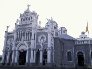 Exterior of Cathedral Los Angeles, Cartago, Costa Rica by Scott T. Smith