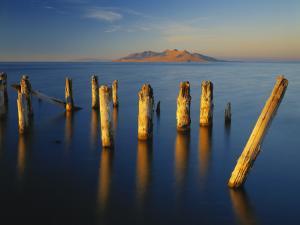 Great Salt Lake, Saltair, Great Basin, Utah, USA by Scott T. Smith