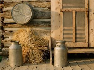 Outside the Kitchen, Ronald V. Jensen Historical Farm, Cache Valley, Utah, USA by Scott T. Smith