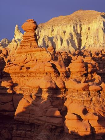 Rock formations in Goblin Valley State Park by Scott T. Smith