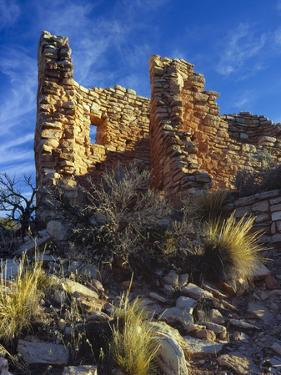 Ruins Cutthroat Castle. Ancestral Puebloan. Hovenweep NM, Colorado by Scott T. Smith