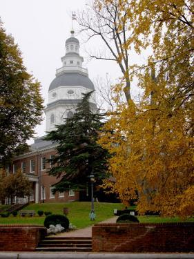 State House 1772-1779, and US Capitol from 1783 to 1784, Maryland, USA by Scott T. Smith