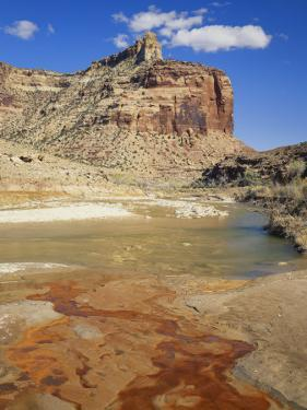 View of San Rafael Swell with Iron-Stained River, Utah, USA by Scott T. Smith