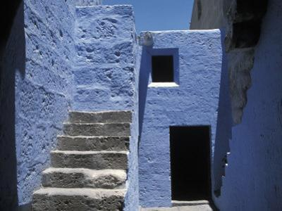 Architectural Detail of the Sprawling Santa Catalina Monastery