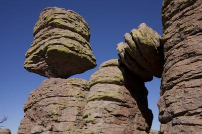 Big Balanced Rock Near the Heart of Rocks in Chiricahua National Monument