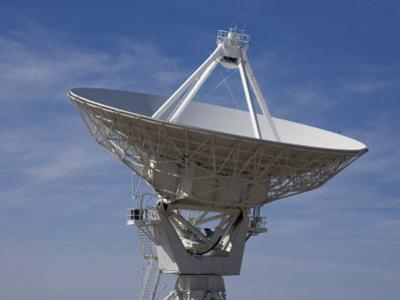 Dish Antenna at the Very Large Array