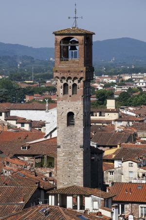 One of Many Towers in the City of Lucca, Italy