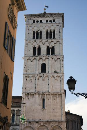 One of Many Towers That Rise Above the City in Lucca, Italy