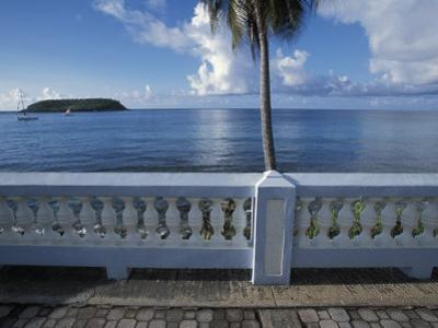 Waterfront at Esperanza on Vieques Island, Puerto Rico by Scott Warren