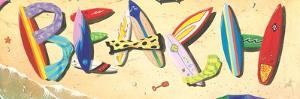 Beach in Boards by Scott Westmoreland