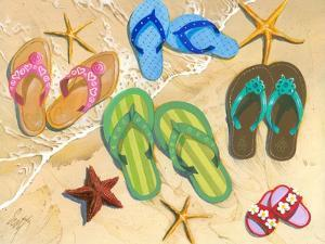 Flip Flop Family by Scott Westmoreland