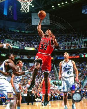Scottie Pippen Game 2 of the 1998 NBA Finals Action