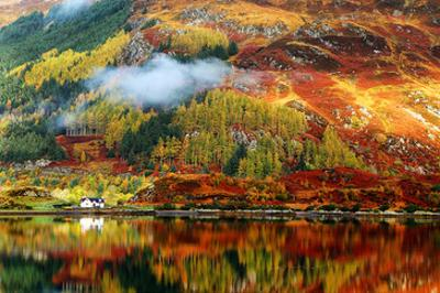 Scottish Highlands Fall Colors