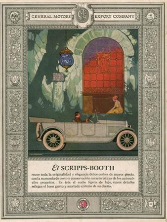 Scripps Booth, Magazine Advertisement, USA, 1920