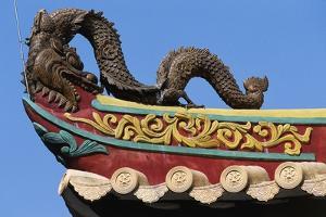 Sculpture Depicting Dragon