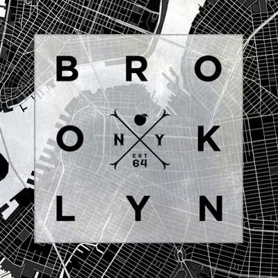 Brooklyn Square BW by SD Graphics Studio