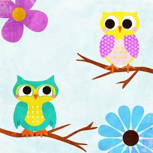 Cozy Owls II by SD Graphics Studio