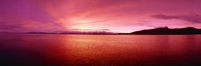 Sea at Sunset, Frederick Sound, Admiralty Island, Kupreanof Island, Alaska, USA