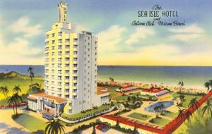 Sea Isle Hotel, Miami Beach, Florida