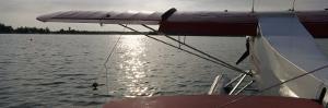 Sea Plane in a Lake, Lake Spenard, Anchorage, Alaska, USA