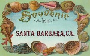 Sea Shells, Souvenir from Santa Barbara, California