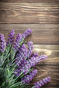 Lavender by Sea Wave