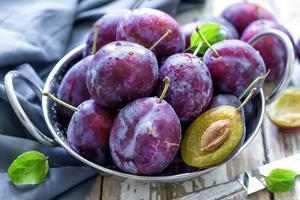 Plums by Sea Wave