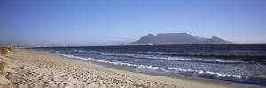Sea with Table Mountain in the Background, Bloubergstrand, Cape Town, Western Cape Province, South