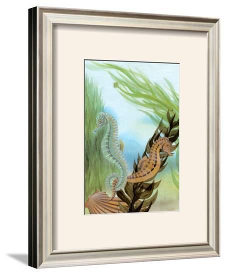 Seahorse Serenade IV-Charles Swinford-Framed Art Print