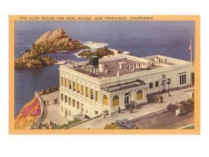 Seal Rocks, Cliff House, San Francisco, California