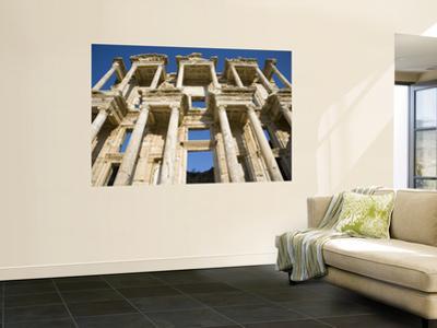 Greek Facade Ruins at Ephesus