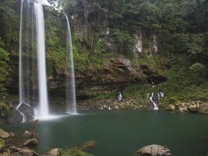 Misol-Ha Waterfall Near Palenque by Sean Caffrey