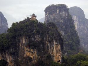 Yangshuo's Karst Peaks by Sean Caffrey