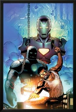 Iron Man: Requiem One Shot Cover: Stark and Tony by Sean Chen