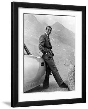 Sean Connery. 007  James Bond: Goldfinger 1964  Goldfinger Directed by Guy Hamilton