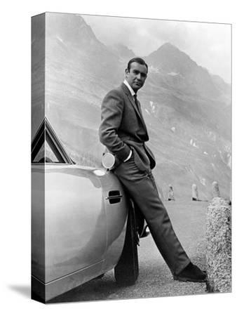 "Sean Connery. ""007, James Bond: Goldfinger"" 1964, ""Goldfinger"" Directed by Guy Hamilton"