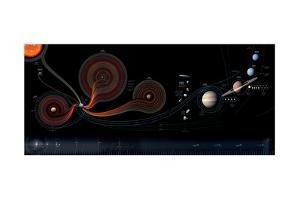 Depiction of Solar, Lunar and Interplanetary Missions by Sean Mcnaughton