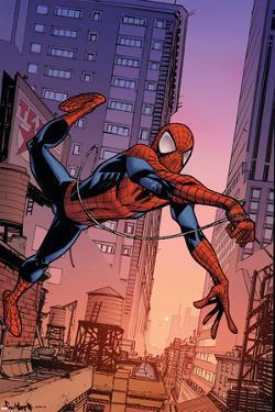 Marvel Adventures Spider-Man No.37 Cover: Spider-Man by Sean Murphy