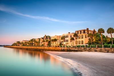 Charleston, South Carolina, USA at the Historic Homes on the Battery by Sean Pavone