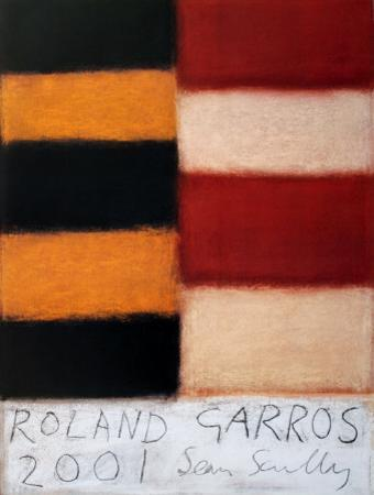 Roland Garros, 2001 by Sean Scully