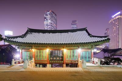 Bongeunsa Temple Grounds in the Gangnam District of Seoul, South Korea. by SeanPavonePhoto