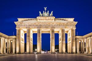 Brandenburg Gate in Berlin, Germany. by SeanPavonePhoto