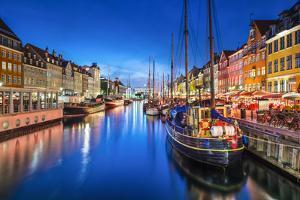 Copenhagen, Denmark on the Nyhavn Canal. by SeanPavonePhoto