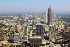Downtown Atlanta Cityscape by SeanPavonePhoto