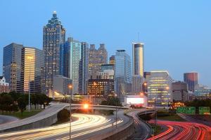 Downtown Atlanta, Georgia Skyline by SeanPavonePhoto