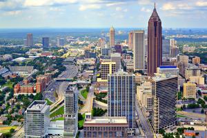 Downtown Atlanta, Georgia, USA Skyline. by SeanPavonePhoto
