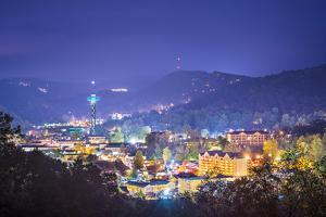 Gatlinburg, Tennessee in the Smoky Mountains. by SeanPavonePhoto