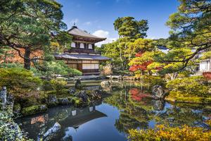Ginkaku-Ji Silver Pavilion during the Autumn Season in Kyoto, Japan. by SeanPavonePhoto