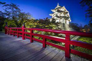 Hirosaki, Japan at Hirosaki Castle Which Dates from 1611. by SeanPavonePhoto